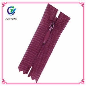 High Quality Plating Zipper Runner and Nylon Zipper for Handbag pictures & photos