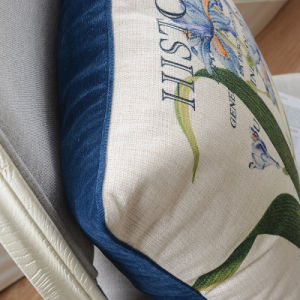 Deluxe Cotton Linen Country Throw Pillows for Bed pictures & photos