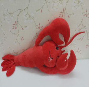 Custom Stuffed Lobster Toy Shrimp Plush Toy pictures & photos