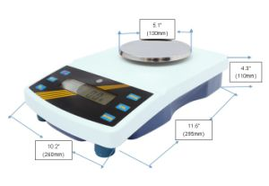 6kg 0.1g Automatic Bench Scale with Sst Pan pictures & photos
