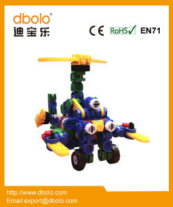 Creative Mini Preschool Toys Deformed Building Block Set for Children pictures & photos