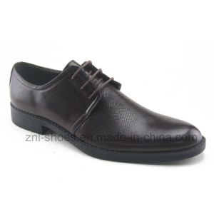 Men′s Dress Shoes / Business Footwear with Embossing (HDS-S04)