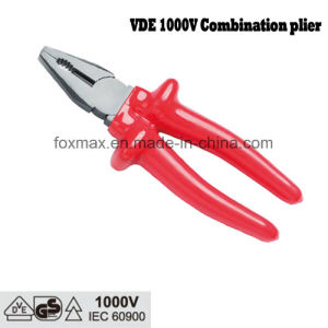 1000V VDE Combination Plier with Dipped Handle pictures & photos