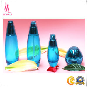 High Quality Blue Package with Conical Shaped Lid pictures & photos