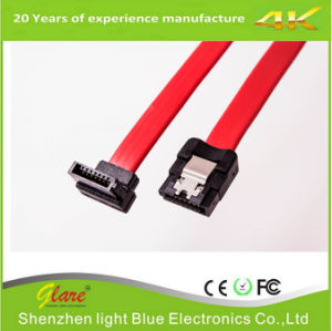 SATA Male to Female Data Cable for PC Cable pictures & photos