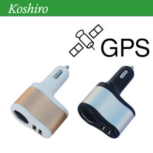 Car USB Charger GPS Tracker with Andriod and Ios APP pictures & photos