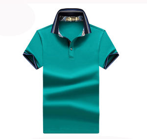 Hot Sale Custom Short Sleeve Cotton Plain Solid Color Polo Shirts pictures & photos