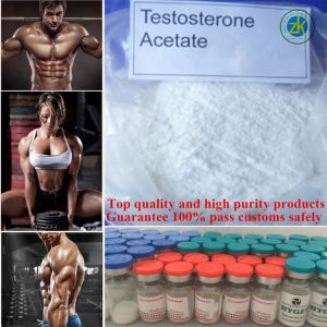 Factory Direct Sales 99.5% Purity Testosterone Acetate Muscle Growth Anabolic Hormone Powder pictures & photos