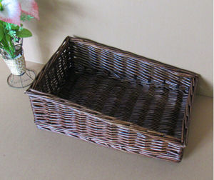 Eco-Friendly Handmade Natual Willow Basket (BC-ST 1215) pictures & photos