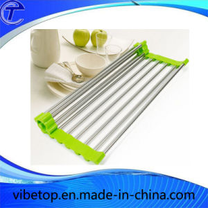 Kitchen Tools Stainless Steel Dish Draining Rack with High Quality pictures & photos