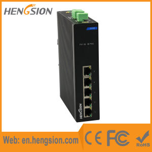 5 Megabit Port RJ45 Industrial Ethernet Network Switch pictures & photos