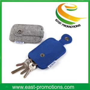 Promotional Felt Keychain with Carbiner pictures & photos