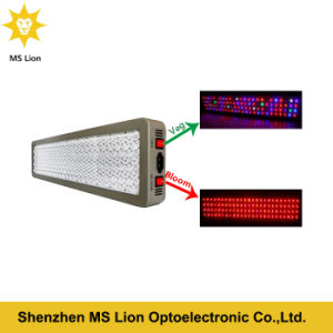 Full Specturm Dual Plant Lighting 1200W LED Grow Light for Greenhouse Indoorveg Bloom pictures & photos