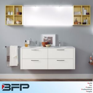 Wall Hung Lacquer Bathroom Vanity pictures & photos