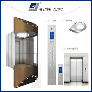 Panoramic Safe Stable Beautiful Lift for Mall