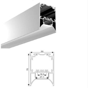 Z5075c LED Linear Light Aluminium Extrusion for LED Strip pictures & photos