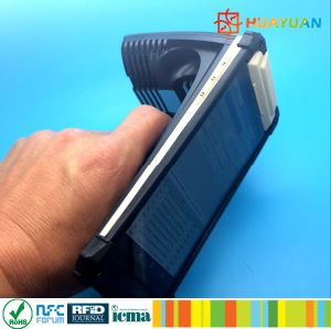 1D barcode 2D barcode optional WiFi Android 6.0 RFID UHF handshield reader pictures & photos