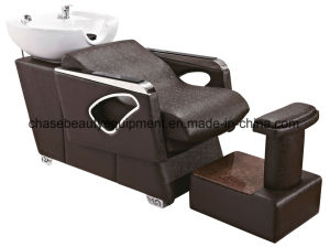 Hot Sale Shampoo Chair with Ceramic Basin Unit for Sale pictures & photos