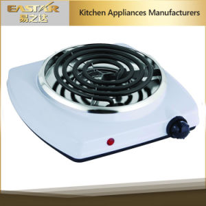 Ce RoHS Approval Spiral Hotplate Es-101sw Electric Coil Cooktop pictures & photos