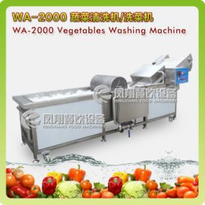 Industrial Automatic Cabbage Lettuce Broccoli Leaf Salad Vegetable Cutter Cutting Dicing and Washer Washing Line Machines pictures & photos