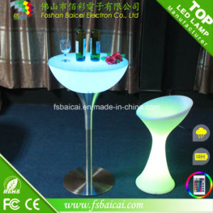 LED Illuminated Bar Cocktail Table (BCR-312T) pictures & photos