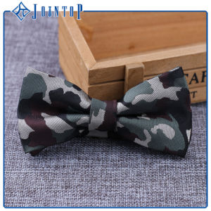 Camo Wholesale Bow Tie 100% Polyester pictures & photos