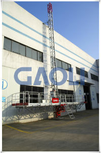 Mast Climbing Clambing Working Movable Scaffolding Platform pictures & photos