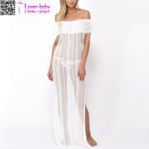 2017 Long Maxi Summer Plus Size Beach Dress Ty1028 pictures & photos