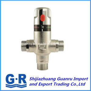 Solar Water Heater Automatic Thermostatic Mixer Valve pictures & photos