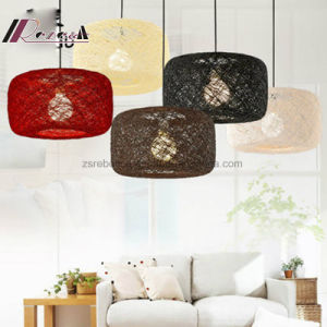 New Modern Rattan Hemp Ball Bird′s Nest Pendant Lamp pictures & photos