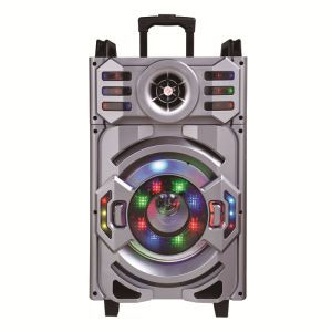 12 Inch Rechargeable Big Power Lound Portable Bluetooth Trolley Speaker ---F12-21 pictures & photos