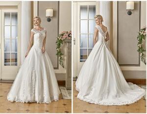 Talior Made UK/Germany Wedding Dress pictures & photos