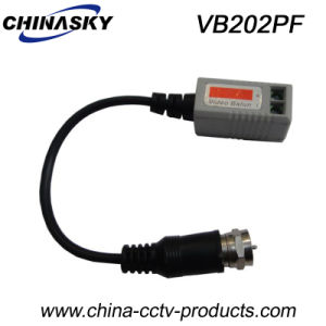 1CH CCTV Passive Video Balun with F Connector (VB202PF) pictures & photos