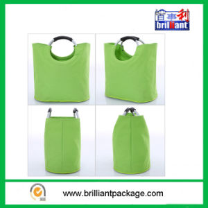 Reusable Folding Polyester Shopping Bag for Storage pictures & photos
