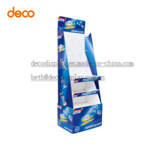 Pop Display Stand Cardboard Display with Hook Supermarket Exhibition Stand pictures & photos
