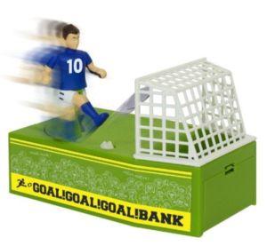 Coin Bank Box Football Soccer Shoot Change Bank pictures & photos