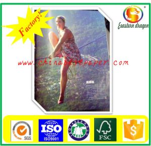 Selling White Color 100GSM C2s Art Paper pictures & photos