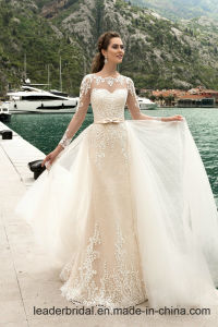 Chic Bridal Gowns Lace Mermaid Long Sleeves Wedding Dresses W1601 pictures & photos