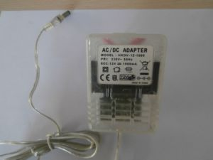 12W12V AC/DC Adapter with Ce GS Certificate