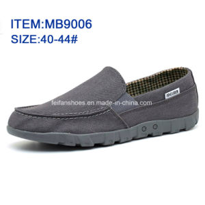 Latest Men′s Slip-on Casual Shoes Canvas Shoes Wholesale Customize (MB9006) pictures & photos