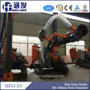 Moving Hydraulic Walking Type DTH Drill Rig (HFG-53) pictures & photos
