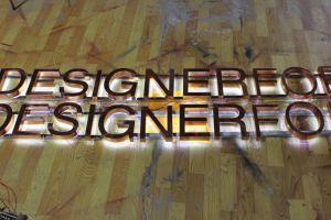High Brightness Halo Light Sign Shop Front Open Backlit Letter pictures & photos