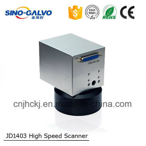 Barcode Scan Digital Jd1403 CO2 Laser Galvo Head for Laser Cutting Machine pictures & photos