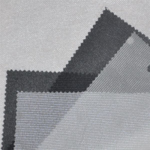 Warp Knitted Interfacing Woven Knitted Double DOT Fusible Fabric Interlining pictures & photos