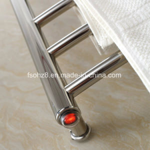 Round Bar Rack Stainless Steel Heated Towel Warmer (9017) pictures & photos