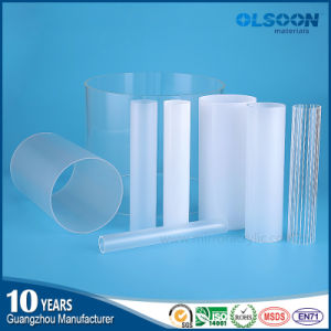 Guangzhou Manufacture Olsoon Extruded Clear Plastic Acrylic Tube pictures & photos