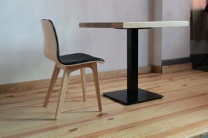 Modern High Quality Wooden Design Sqaure Wooden Table pictures & photos