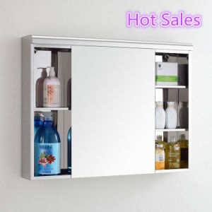 The Latest Stainless Steel Bathroom Mirror Cabinet in Various Design pictures & photos