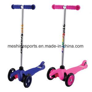Folding Aluminium Kids Mini Scooter with Brake pictures & photos