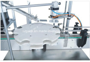 Rotary Capper+4 Heads Liquid Filler/Liquid Filling Machine From China pictures & photos